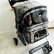 Animal Print Dog Strollers In Leopard Zebra And Cheetah