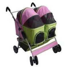 twin dog stroller for two pets