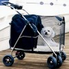 travelling with your dog is so much easier with a dog stroller