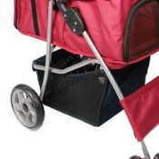 The Leopet Dog has a handy storage compartment underneath