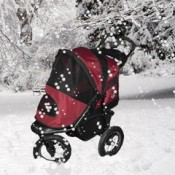weatherproof puppy strollers are perfect for protecting your puppy in bad wet or wintery weather
