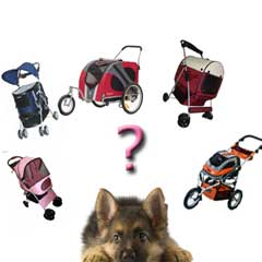Which puppy stroller is right for my puppy?