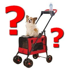 Dog Strollers, Dog Prams and Pet Pushchairs are so often misunderstood