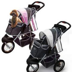 Innopet Three Wheel Dog Stroller Jogger With Airfilled