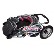 Innopet Three Wheel Dog Stroller Jogger with airfilled tyres - easily folds flat