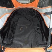 Innopet Sporty Orange and Black Dog Stroller, Jogger and Bicycle Trailer - roomy spacious interior
