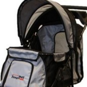 Innopet all terrain dog stroller large compartment