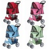 Confidence Deluxe Four Wheel Pet Stroller for dogs, puppies, cats and kittens