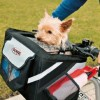 What should I look for when buying a bicycle dog basket or carrier?