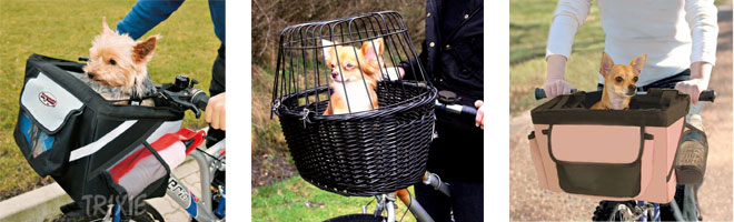 Bicycle Pet Baskets and Carriers for small dogs