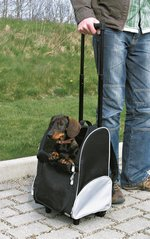 dog trolley with telescopic handle